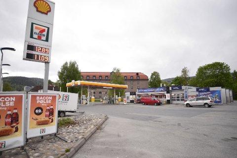 SOLGT: Drammen kommune har kjøpt denne eiendommen for 18 millioner kroner for å bygge flerbrukshall.