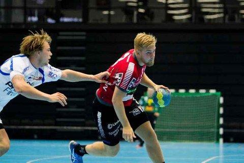 TO ÅR: Svenske Oscar Hansson fra Ystad har gjort liung av seg for de to neste årene