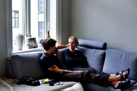 SLUTT: Anniken Jørgensen og Anders Gran flyttet sammen i ny leiligheten på St. Hanshaugen i fjor, men nå er forholdet over.