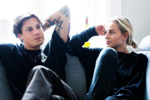 NYFORELSKET: Da Anniken møtte Anders for første gang, skjønte hun at de kom de kom til å ende opp sammen. Nå har de flyttet fra hverandre.