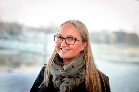 SKRIVER OM SERVICE: Anniken Aasen Thommessen - lærling, Næringsforeningen i Drammensregionen.