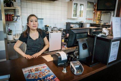 Supakan Petchairot eier og driver Asian Cafe