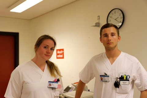 OPPLÆRING: De to sykepleierne forteller at de har vært gjennom et lærerikt opplæringsprogram.