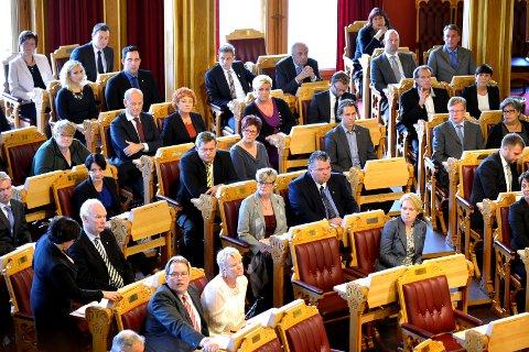 SPENNENDE TIDER: Snart får vi vite hvor representantene på Buskerudbenken plasseres på Stortinget.
