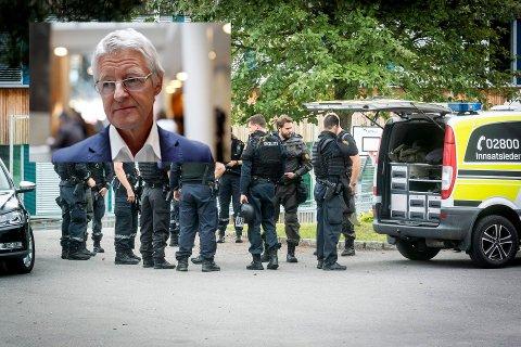 BISTANDSADVOKAT: Harald Stabell blir bistandsadvokat for 16-åringen som ble knivstukket på St. Hallvard vgs mandag.