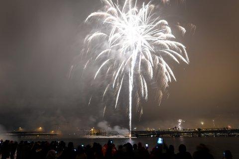 Mange skal skyte inn det nye året nyttårsaften.