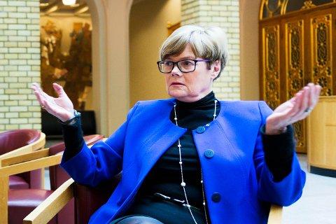 TAR GJENVALG: Partileder Kristin Ørmen Johnsen i Buskerud Høyre dropper ikke  alkoholservering etter varslingsakene i partiet.