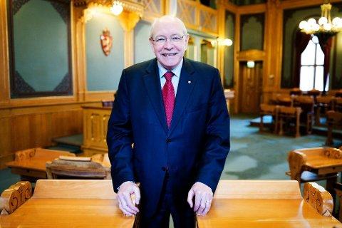 KRASJET: Arbeiderparti-politiker Martin Kolberg.