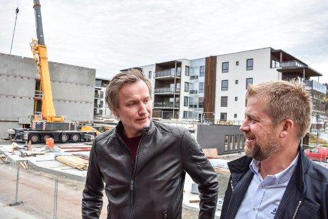 KRAFTIG VEKST: Petter Bøhler (til venstre) og Kristian Lindland i Alento AS ser at de er i ferd med å nå målene de satte seg da de startet selskapet for fire år siden.
