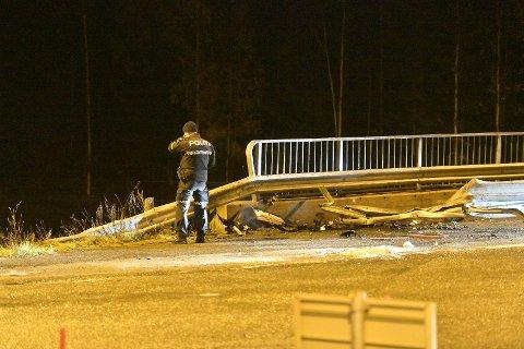 En person er fløyet til Ullevål sykehus etter ulykken.
