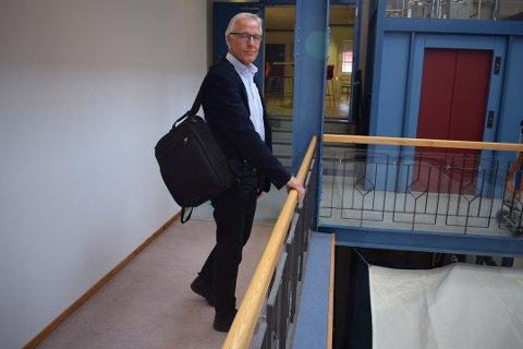 VIL KOMME SEG VIDERE: Styreleder Torbjørn Almlid i Vestre Viken HF.