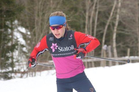 KNOCKOUT: Helene Marie Fossesholm (17) imponerte mer enn noen på Norgescup-rennet på Konnerud dag 1.