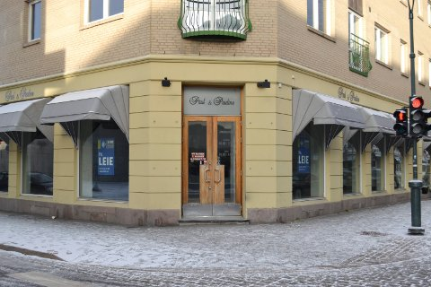 Tomt: I St. Olavs gate 3 har butikklokaler stått tomme i lengre tid, men i følge eiendomsmegler er det ingen krise på utleie i Bragernes senturm.