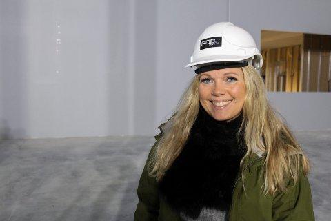 NYTT TILBUD: Merethe Dokken blir daglig leder for Rush trampolinepark i Drammen, som åpner i vinterferien 2019.