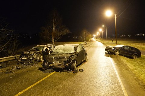 Ulykken skjedde på Horgenveien i november 2017.