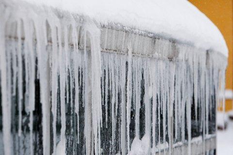 KALDT: Lørdag er det meldt 14 minusgrader i Vestby.
