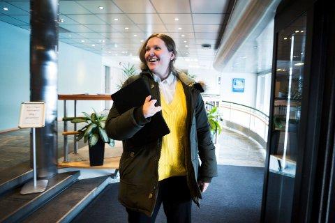 Ingrid Bjerring. Ny kommunelege i Lier. Bosatt i Asker hvor hun er oppvokst.