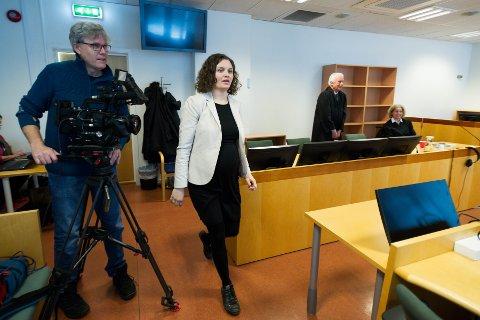 OVERRASKET: Mannens forsvarer, advokat Inga Laupstad sier at resultatet er overraskende. Nå skal hun og klienten avgjøre om dommen skal ankes.
