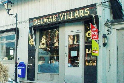 HISTORIE I VEGGENE: Det er mye historie her. Delmar Villars startet stedet i 1912.