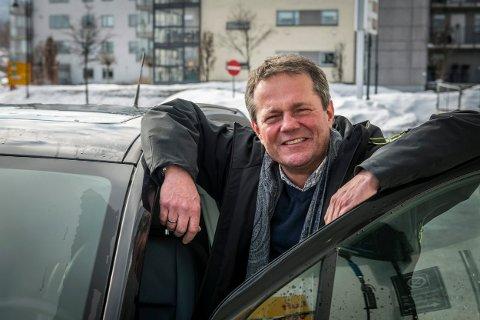 VIL HA FOLKEMENINGEN: Ulf Erik Knudsen, gruppeleder for Frp i Drammen, er forberedt på kjeft fra andre partier for forslaget om folkeavstemning.