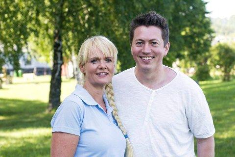 STERKE UTFORDRERE: Både Kristin Surlien og Andreas Muri skal være foreslått som ordførerkandidat for Nye Drammen Høyre, og kan bli harde konkurrenter til Fredrik A. Haaning.