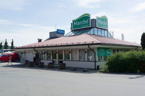 Marché på Kjellstad i Lier skal legges ned til høsten. Inn kommer Burger King.