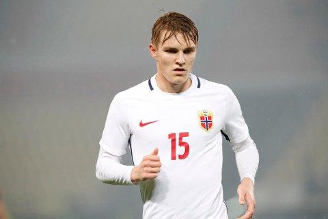 NY HVERDAG: Martin Ødegaard kan få sin Vitesse-debut allerede søndag.