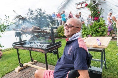 50 års meny Drammens Tidende   Lamme Terje (70) feiret livet med lammesteik 50 års meny