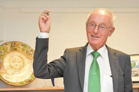 SNUR: Erik Jølberg, konsernsjef i TESS.