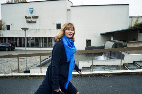 Ann Sire Fjerdingstad, her som ordfører for Høyre i Øvre Eiker.