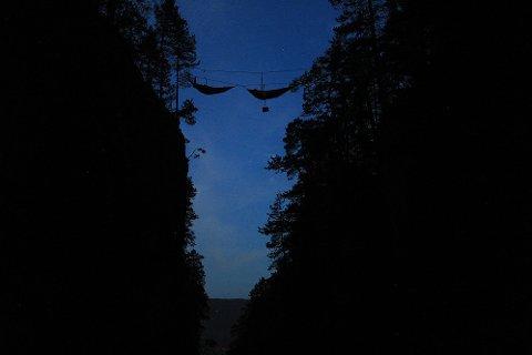 GOD NATT: – Jeg hadde håpet å sovne raskt, men adrenalinet gjorde at det tok litt tid, sier Fredrik Gedde-Dahl.