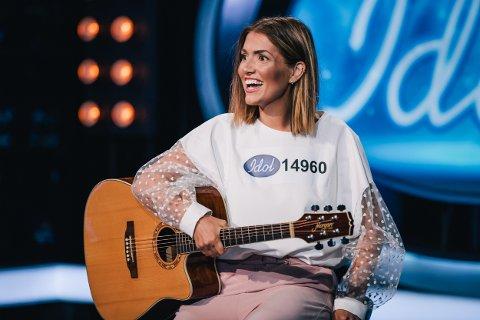 AUDITION: Iselin Guttormsen fra Drammen var på Idol-audition i Oslo i sommer. På fredag vises det på TV2.