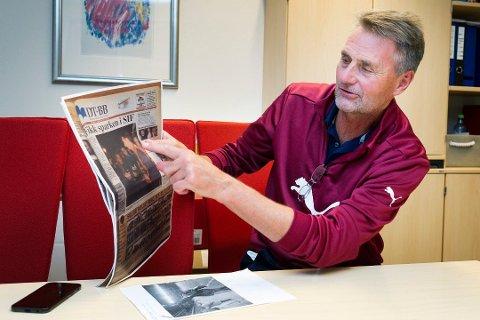 Dag Vidar Kristoffersen gjester denne ukens episode av Lokomotiv Lyskestrekk sammen med Åssidens leder Sverre Fredriksen.