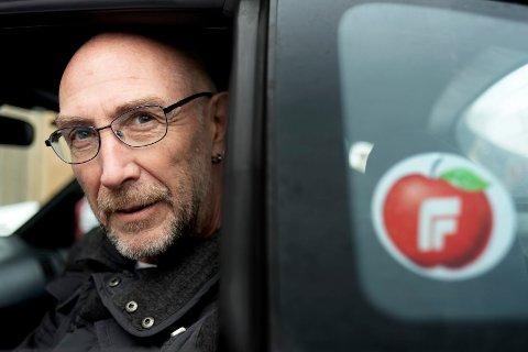 MOT FYRVERKERIBRÅK: Jan Åge Størseth i Øvre Eiker Fremskrittsparti går for å enten forby privat fyrverkeriooppskytning eller å bare tillate lydløst fyrverkeri.