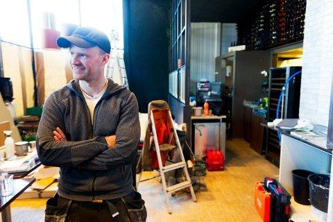 HAR LAGT NED: Slakt Spiseri-drømmen varte ikke så lenge for Eirik Johan Holm. Her fra da han endret navn og konsept på Moa Moa til Slakt Spiseri.