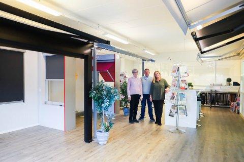50 ÅR: I anledning jubileumsåret har Alfa Solskjerm en ny utstilling i butikken nå.