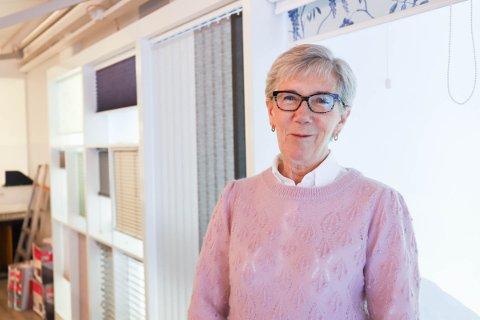 SNART FERDIG: Ulla Irene Samuelsen er spent på hvordan det vil bli å ikke jobbe mer.