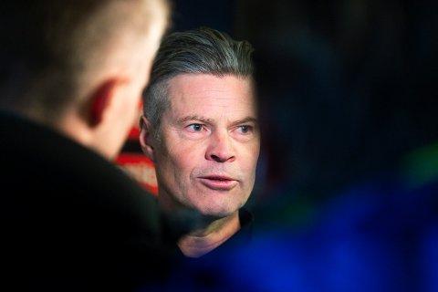 MELLOMFORNØYD: MIF-trener Vegard Hansen etter 0-0 hjemme mot Sarpsborg 08.