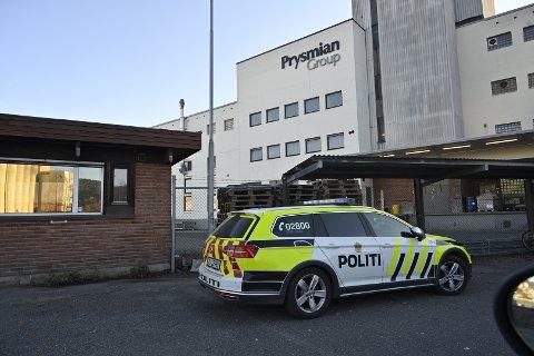 Ulykken skjedde hos Prysmian Group.