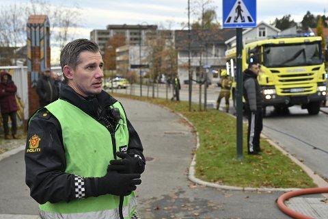 Politibetjent Bård Olsen.
