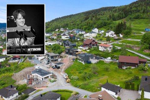 TOMTEKJØP: Kent Sundberg i Donkeyboy og kjæresten Malin Nygård Gjerde har kjøpt tomt på Danvik i Drammen.