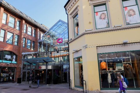 FLERE UT ENN INN: Magasinet i Drammen er blant kjøpesentrene i drammensområdet med ledig kapasitet etter at leietakere har flyttet ut i 2019. På CC og Strømsø senter er det nå ingen ledige lokaler.