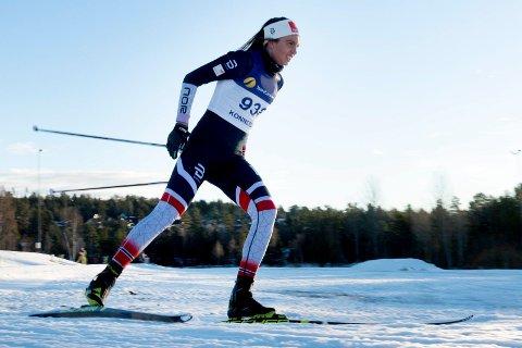 GULLKANDIDAT: Kristine Stavås Skistad går for mer enn NM-gullet i dag. Kommer hun til finalen er VM-billetten bortimot klar.