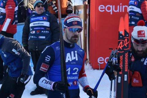 TUNG DAG: Sondre Turvoll Fossli kan måtte gå sitt livs sprintrenn i Lahti, for å få komme med til Seefeld-VM.