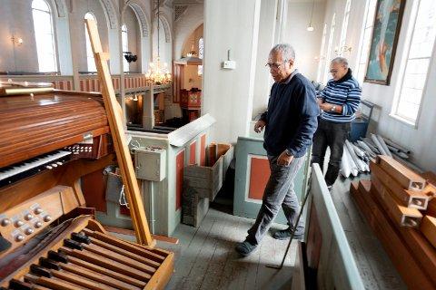 Kirkeorgelet i Tangen Kirke i Drammen demonteres og skal sendes til en kirke på Madagaskar som skal sette det opp igjen