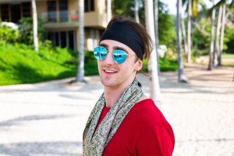 Russelåt-kongen Andreas «TIX» Haukeland er med på Paradise Hotel 2019.