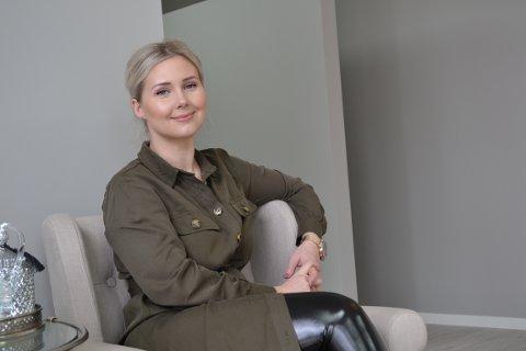 ENDELIG EGEN SALONG: Skaiste Rimkuviene (30) har drømt om å ha sin egen salong i over 10 år. Det var nå eller aldri.