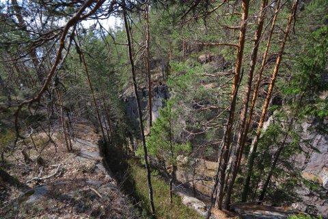 Ulykken skjedde 4-500 meter oppe i Kjøsterudjuvet, der juvet er på sitt dypeste.