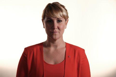FORNØYD: Aps toppkandidat Tonje Brenna har tro på at de rødgrønne skal bli enige om en plattform.