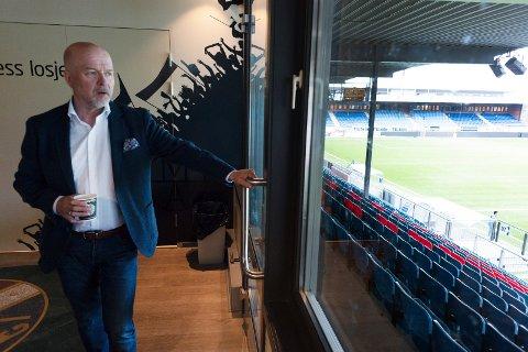 Styreleder Egil Meland i Strømsgodset Fotball AS understreker at investorene ikke kan ta med seg de 20 millioner kronene som er egenkapitalen i selskapet. - Det er reguleringer i avtalen som forhindrer det, sier han.